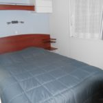 Chambre parentale, mobil-home nautilhome, camping Damgan