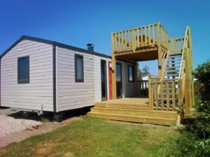 Mobil-home Bermudes avec terrasse panoramique, Camping Damgan